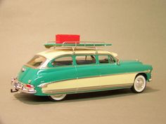 Hudson Station Wagon- I would give anything to rock one, or a Hudson in general.