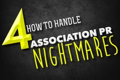 Event professionals need to be prepared to handle PR nightmares at conferences. How they are handled can be just as critical as the problem itself.