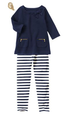 Gymboree BUNDLED & BRIGHT Size 6 Girls Outfit, Zip Pocket Fleece Tunic, Striped Leggings, Owl Hair Clip, NWT  Available in our store http://stores.ebay.com/Star-Baby-Designs-Home-Store\  Find us on Facebook! https://www.facebook.com/StarBabyDesigns/
