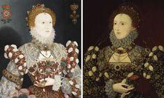 Queen Elizabeth I portraits to go head to head
