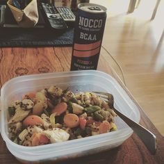 """Maaaat #food #foodprep #tasty #healthy #wook #chicken #veggies #quinoa #omnomnom #nocco #bcaa"" Photo taken by @theresetb87 on Instagram, pinned via the InstaPin iOS App! http://www.instapinapp.com (08/17/2015)"