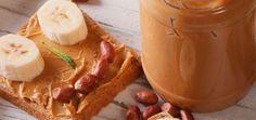 5 Snacks de manteiga de amendoim para o pós-treino