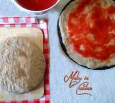 L' Impasto pizza integrale di Gabriele Bonci è facile da realizzare solo occorre un pò di pazienza poichè i tempi di lievitazione sono piuttosto lunghi (cir