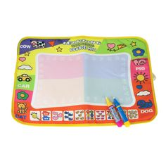 Clipboard 1pcs Children Writing Doodle Stencil Painting Magnetic Drawing Board Set For Kids Learning & Education Toys Hobbies Carefully Selected Materials