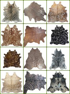 I want a metallic cowhide for my living room. It elevates the common cowhide to new level.