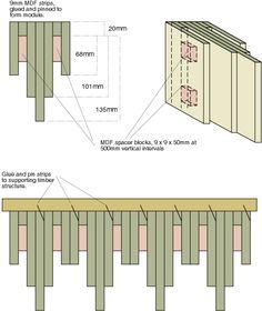 acoustic diffuser panel - Google zoeken