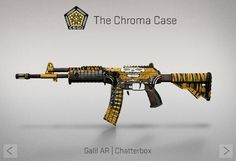 Counter-Strike Global Offensive: The Chroma Case: Galil AR Chatterbox