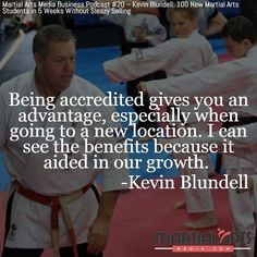 """""""You can contact people in the martial arts industry association or the Australian Sports Commission and they can verify that you are accredited. It does give you an advantage especially when it comes to going to a new location. The understanding of people with accreditation they have done first aid fitness coaching etc. - I've done all that as well but having accreditation lifts the industry overall. That's just my viewpoint but I can see the benefits because it aided greatly in our…"""