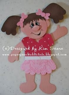 Paper Punch Addiction: Build a Bear becomes a girl!