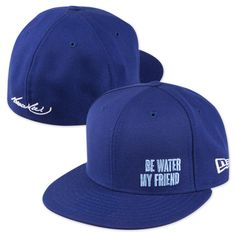 eacd5f11bf2 Bruce Lee Be Water New Era 59FIFTY Fitted Hat Size 7 or as small as possible