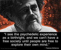 Terence McKenna – A Human Right - More at: http://quotespictures.net/20368/terence-mckenna-a-human-right