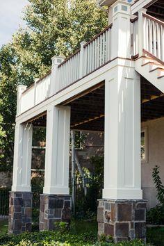 Exterior Pillars