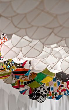 7 | A Floating Dreamscape Made From Hundreds of Kites | Co.Design | business + design