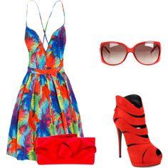 """""""Summer dress"""" by ferchita-bonita on Polyvore"""