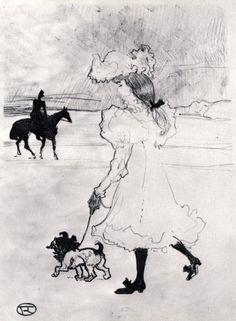 Henri de Toulouse Lautrec.-