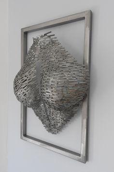 Welding Art Projects, Metal Art Projects, Metal Art Sculpture, Steel Sculpture, Art Mannequin, Art En Acier, Diy Earrings Supplies, Fantasy Wire, Sculptures Céramiques