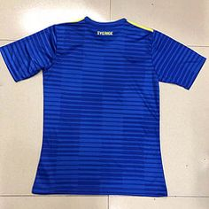 Wsapp:008618028684142 2018 World Cup Sweden Away Shirt 14.5€ Thai Quality