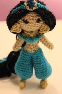 Jasmine Amigurumi Pattern Crochet Doll Disney by Sahrit Freud-Weinstein $5