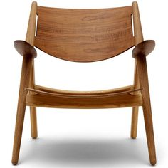 Hans Wegner: Wegner CH28T Sawhorse Chair - All Wood - Danish Design Store