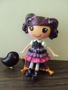 Raven Queen mini lalaloopsy ever after by PhoenixWingCreations