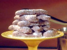 Chocolate Ladyfingers recipe from Chocolate with Jacques Torres via Food Network