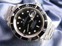 Men's Rolex Submariner Steel Automatic Date Watch 300m Ref 16610T F Serial #2201 - http://mostbidded.com/ads/mens-rolex-submariner-steel-automatic-date-watch-300m-ref-16610t-f-serial-2201