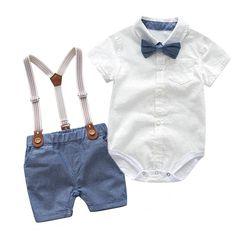 Baby Boys Clothes Sets Newborn Infant Kids Outfits Tops+shorts We – Center Of Treasures Cute Baby Boy Outfits, Boys Summer Outfits, Summer Boy, Toddler Boy Outfits, Cute Baby Clothes, Kids Outfits, Outfit Summer, Summer Clothes, Baby Boy Dress Clothes