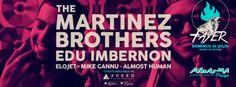 The Martinez Brothers in Akuarela, Valencia. https://xceed.me/events/valencia/8852/the-martinez-brothers-edu-imbernon-fayer