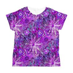 Radiant Orchid Dais Women's All Over Print T-Shirt