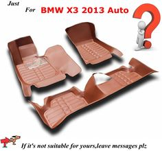 XPE/EVA  Car Carpet Anti Slip Floor Mats for BMW X3 2013 Automobile Floor Mat Cover Black Grey Brown Beige Choices,High Quality carpet wholesale,China carpet car Suppliers, Cheap carpet shaver from AUTO PARTS HOME on Aliexpress.com