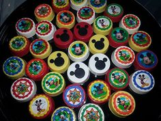 Mickey Mouse clubhouse chocolate covered oreos