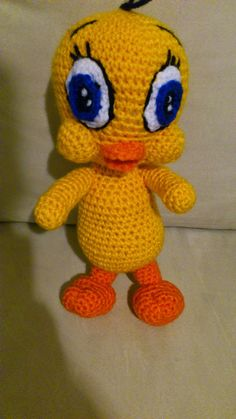 1000+ images about piolin en crochet on Pinterest Tweety ...