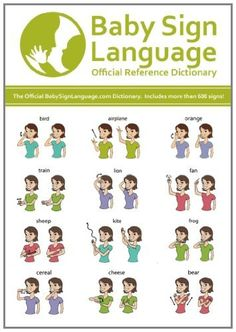 The Baby Sign Language Dictionary includes over 600 signs covering nearly every topic of interest. Use the dictionary as a reference that helps you grow your child's signing vocabulary. Sign Language Dictionary, Sign Language Chart, Sign Language Words, Sign Language Alphabet, Sign Language Interpreter, American Sign Language, Baby Asl, Baby Language, Baby Singing
