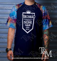 Catálogo Camisetas Terceiro Ano 2018