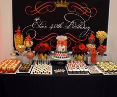 Casino theme dessert table by Style Me Sweet www.facebook.com/StyleMeSweet