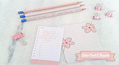 Faça o download de bloquinhos e sticker para lápis. Bloquinhos de anotações e lista To Do e Sticker Wrap Pencil, com estampas muito fofas.