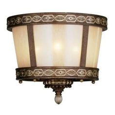 Livex Lighting 8860-64 Seville - Three Light Semi-Flush Mount