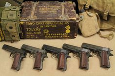 Band of Brothers Colt 1911, 1911 Pistol, Weapons Guns, Guns And Ammo, M1911, Hunting Stores, Love Gun, Military Gear, Military History