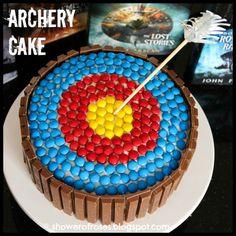 Ranger's Apprentice Archery Target Cake