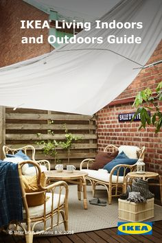 This spring, make a statement with your deck. Get inspiration from the IKEA Living Indoors and Outdoors Guide.