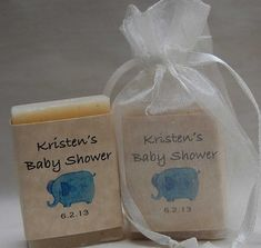 Baby Shower Favor-Elephant Favor-handmade soap Party Favor--baby shower gifts-24, 1 oz. Baby shower soap favors-Mini Soap Favors on Etsy, $24.00