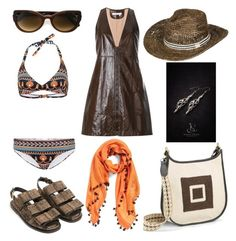 """Untitled #1109"" by harikleiatsirka on Polyvore featuring Chloé, Martha Medeiros, Marni, La Fiorentina and Roxy"