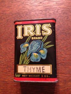 Rare Iris Spice Tin