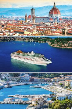 P&O Cruises' Western Mediterranean, 10 night cruise from Sailing from Southampton & calling at - Lisbon - Gibraltar - Barcelona - Marseille - Cannes - Florence/Pisa – Genoa P&o Cruises, Cruise Holidays, Tourist Information, Genoa, Southampton, Travel Agency, Lisbon, Pisa, Travel Pictures