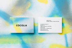 Brand identity by Cocolia. More on http://lookslikegooddesign.com/brand-identity-cocolia/