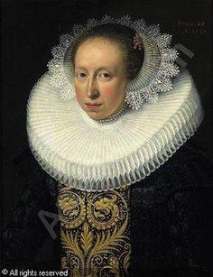 Portrait d'une femme, Jan Anthonisz Ravesteyn