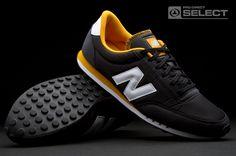 New Balance 410: Black, Yellow and White #410itch