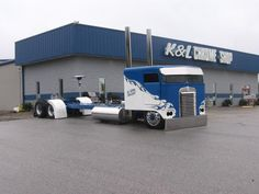 Trick My Truck Cabover Rigs   Low Rider Cabover Cool Show Rig. in Semi Trucks #2 by