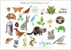 Rosenberry Rooms has everything imaginable for your child's room! Share the news and get $20 Off  your purchase! (*Minimum purchase required.) Forest Friends A to Z Placemat #rosenberryrooms