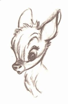 Bambi - Story Sketches #conceptart #disney #animation